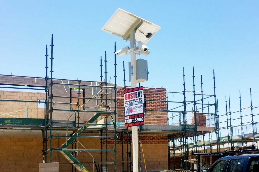 Building Site Cameras in Perth & Melbourne